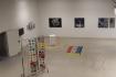 """""""Werkschau"""", Schaumbad - Freies Atelierhaus Graz, exhibition view, final preparations."""
