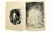 Looking at explosions, drawings by Edda Strobl and Helmut Kaplan.